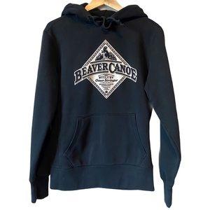 Beaver Canoe vintage hoodie